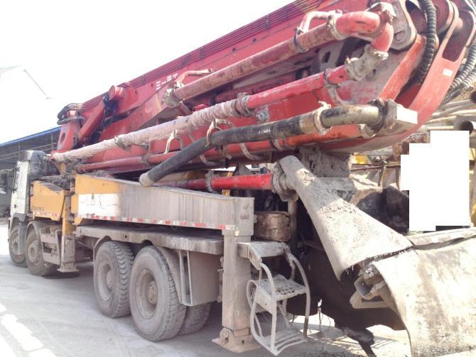 05年三一45米泵车处理,41万包过户