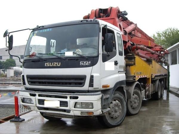 出售2008年三一45米泵车