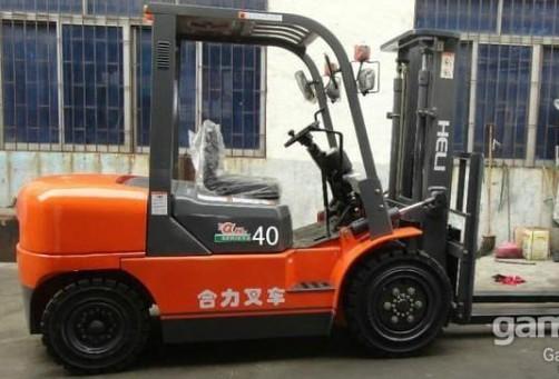 二手三吨半柴油叉车全新三吨合肥叉车