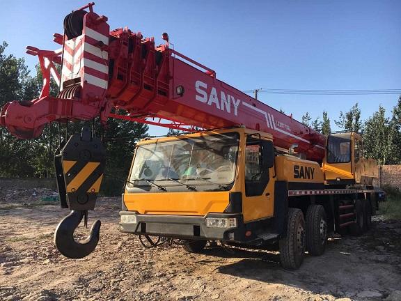 采购二手国产品牌8-70-130吨吊机数台