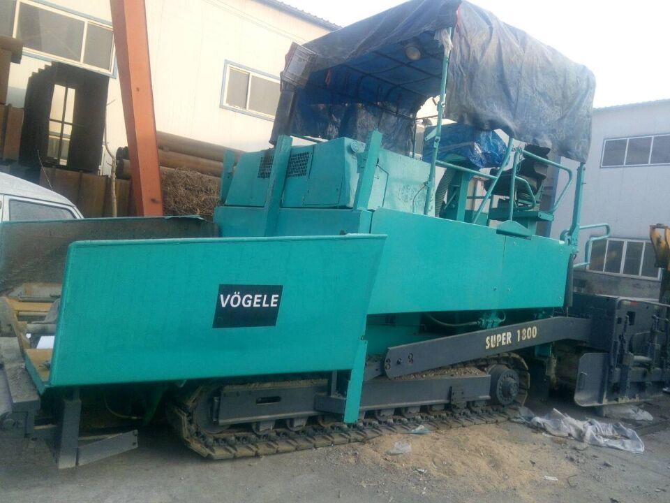 供应原装进口福格勒S1800伸缩摊铺机