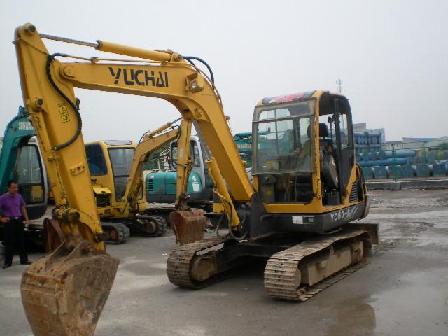 急转玉柴10年YC60-8挖机