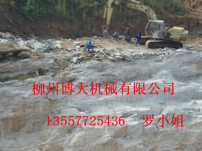 石灰石岩石砂岩混凝土开采设备