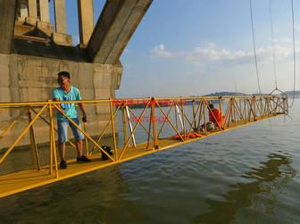 桥梁检测车,无需脚手架,升降设备