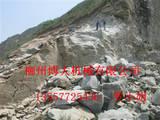代替炸药开采矿山岩石设备