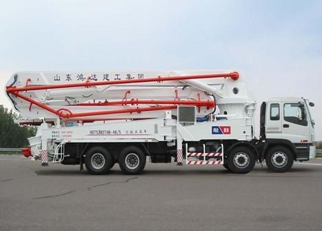 铁力士HDT5380THB-48/5混凝土泵车