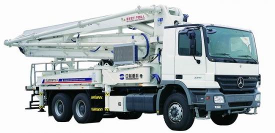 ZLJ5281THB125-37泵车