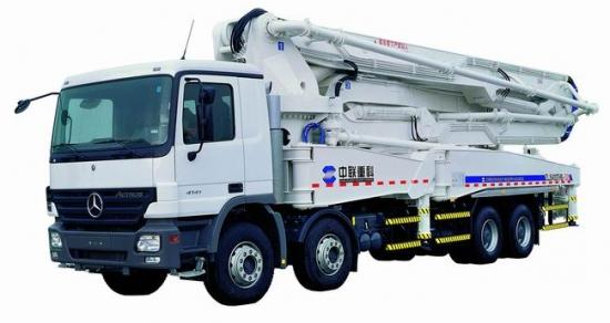 ZLJ5433THB泵车