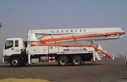 HDT5281THB-37/4泵车