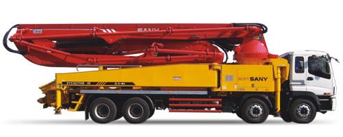 三一SY5382THB 48混凝土泵车
