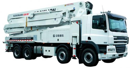 ZLJ5350THB 43X-5Z泵车