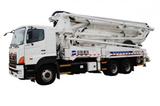 ZLJ5282THB125-37泵车