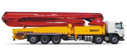 三一SY5502THB 62V混凝土泵车