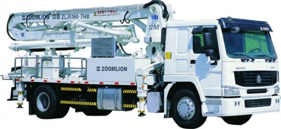 ZLJ5160THB泵车