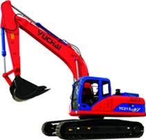 YC210LC-8挖掘机