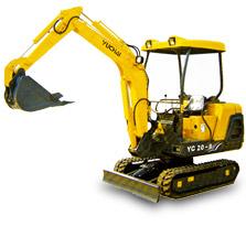 YC20-8挖掘机