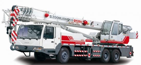 QY25V532汽车起重机