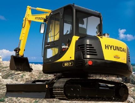 R60-7挖掘机