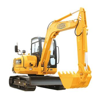FR65-7挖掘机