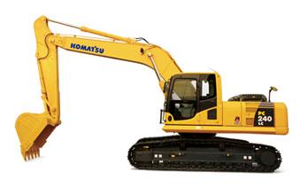 PC240LC-8挖掘机