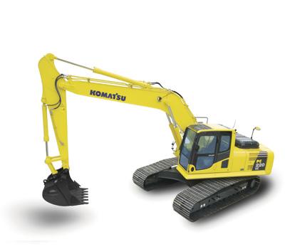 PC220LC-7挖掘机