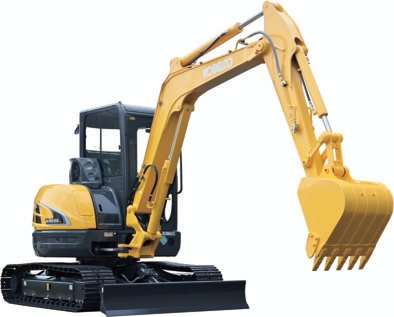 SK55SR-5挖掘机