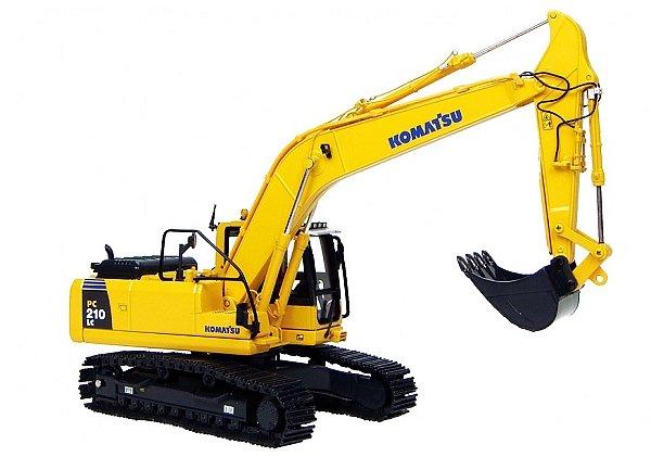 PC210LC-7挖掘机