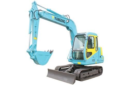 YG70C挖掘机