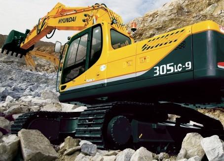 R305LC-9挖掘机