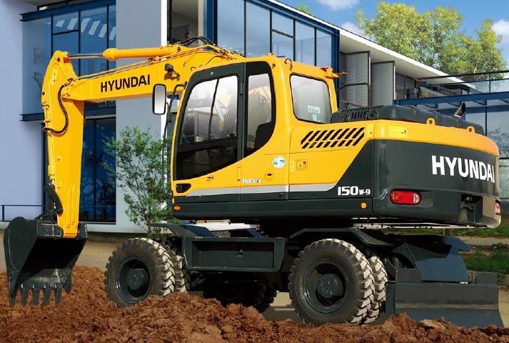 R150w-9挖掘机