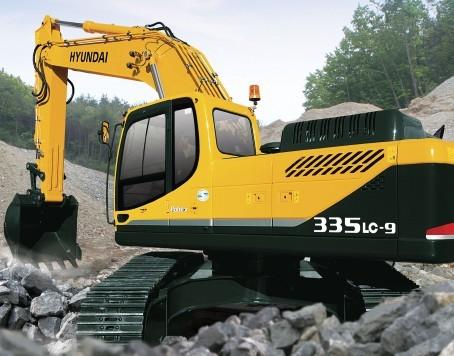 R335LC-9挖掘机
