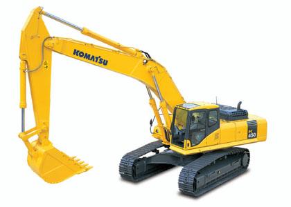PC450-7挖掘机