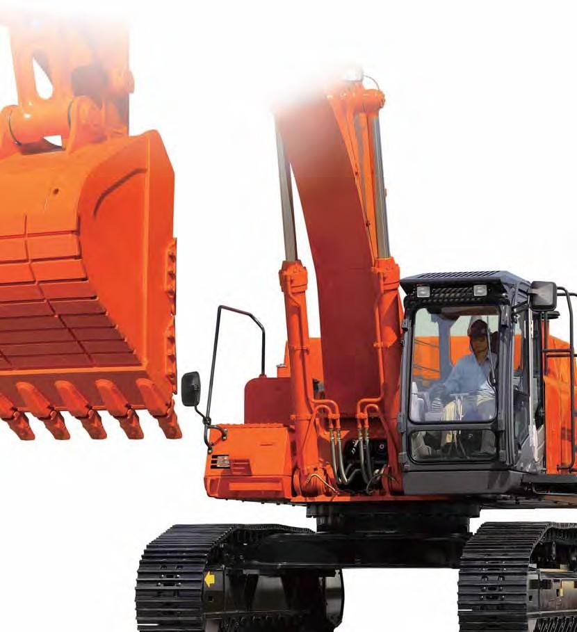 ZX470LCH-3挖掘机
