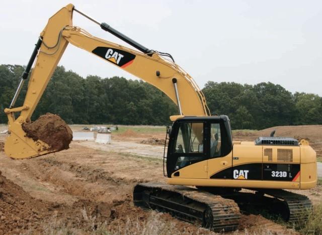 323DL挖掘机