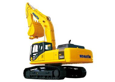 PC360-7挖掘机
