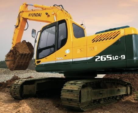 R265LC-9挖掘机