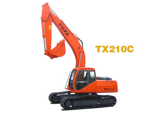 TX210C挖掘机