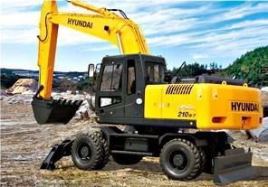 R210W-7挖掘机