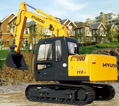 R110-7挖掘机