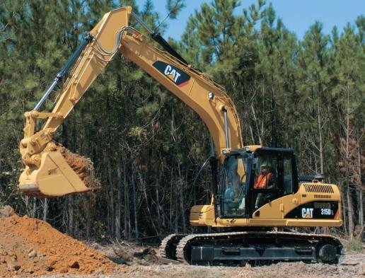 315DL挖掘机