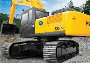 R335LC-7挖掘机