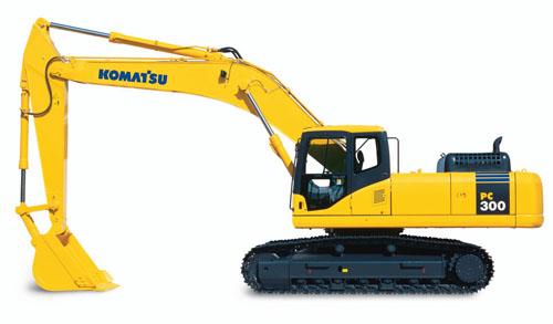 PC300-7挖掘机