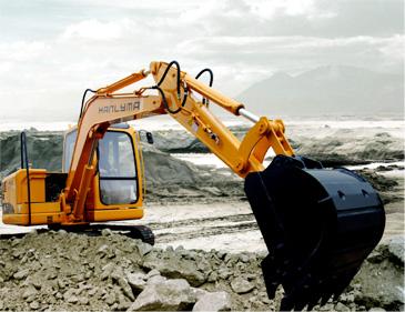 HL165-7挖掘机
