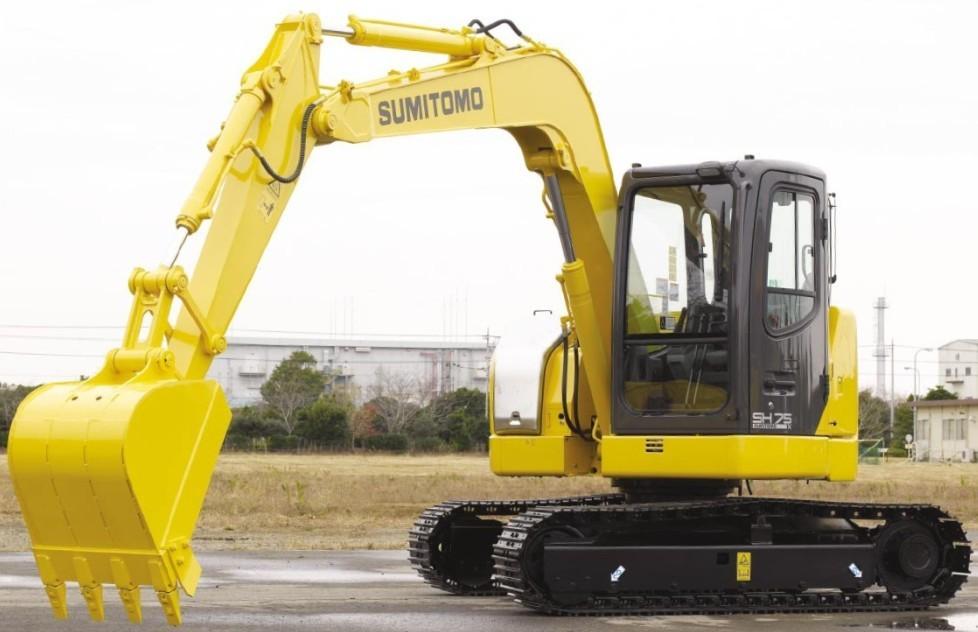 SH75X-3B挖掘机