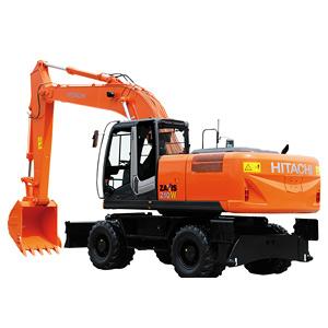 ZX210W-3挖掘机
