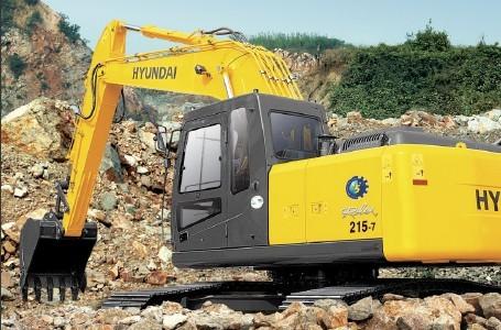 R215-7C挖掘机