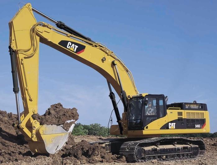 345C挖掘机