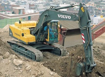 EC210B挖掘机