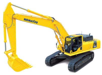 PC450-8挖掘机