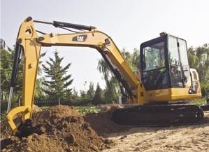 306挖掘机